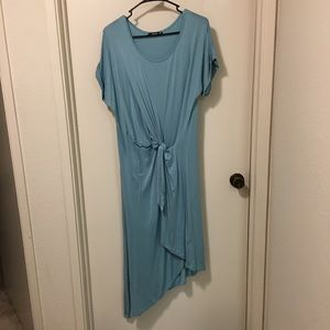 Annabelle Assymetrical T-shirt Dress